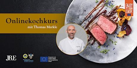 JRE Onlinekochkurs mit Thomas Merkle Tickets
