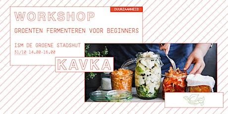 Workshop | Groenten fermenteren voor beginners tickets