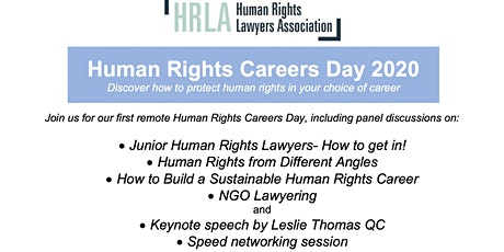 Human Rights Careers Day 2020 tickets
