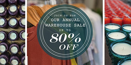 K. Hall Studio Warehouse Sale tickets