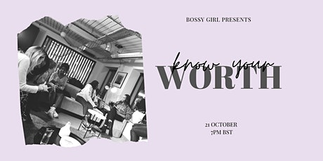 Know Your Worth // online event for young female founders tickets