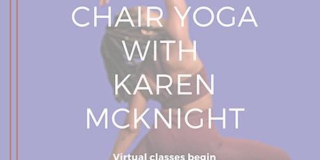 Chair Yoga with Karen McKnight tickets