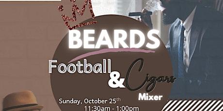 Beards, Football, & Cigars Mixer tickets