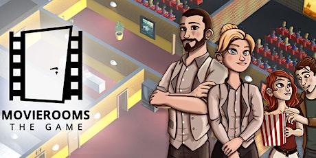 """ROME VIDEO GAME LAB - Presentazione videogioco """"Movierooms"""" biglietti"""