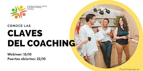 Jornada de Puertas Abiertas: Las Claves del Coaching entradas