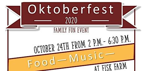 Oktoberfest 2020 Family Fun Event tickets