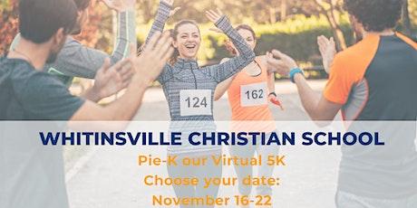 Whitinsville Christian Virtual 5K tickets