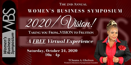Women's Business Symposium 2020 - Virtual tickets