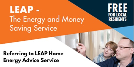 Referring to LEAP Home Energy Advice Service - South and North Tyneside tickets