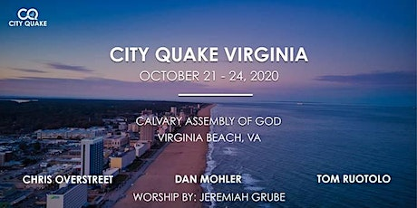 City Quake Virginia w/ Dan Mohler, Chris Overstreet, Tom Ruotolo tickets