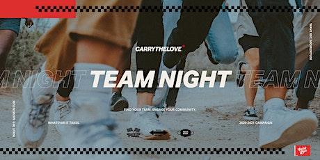 Carry The Love: Abilene - Team Night