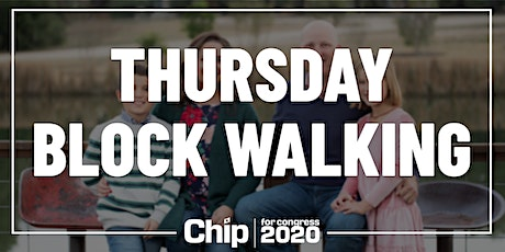Thursday Afternoon Block Walking for Chip Roy! tickets