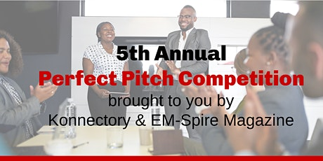 Konnectory & EM-Spire Magazine Present Perfect Pitch Competition tickets