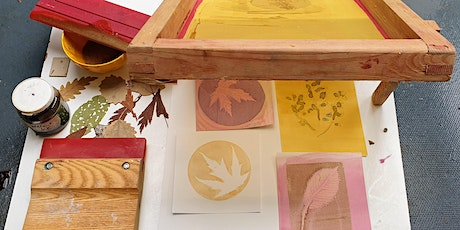 Plant Print Postcard Workshop for children 8+ years* tickets