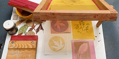 Plant Print Postcard Workshop for children 8+ years*