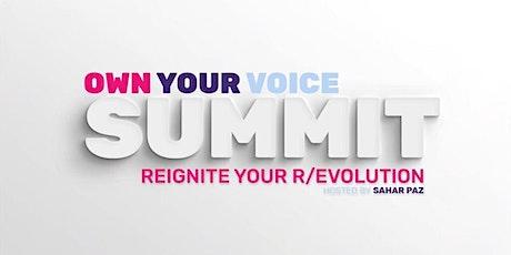 Own Your Voice Summit: 2020 tickets
