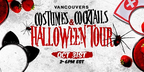 VANCOUVER'S COSTUMES & COCKTAILS HALLOWEEN TOUR tickets