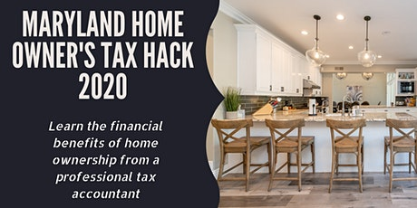New Homeowner's Tax Hack for 2020 tickets