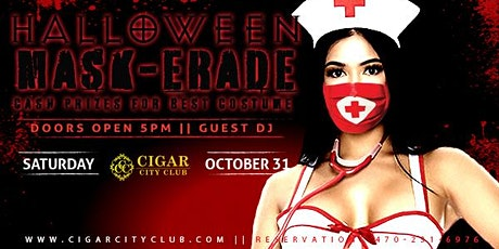 Halloween Mask-erade Costume Party tickets