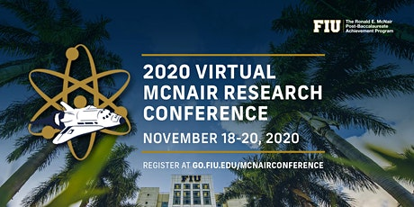 2020 Virtual FIU McNair Research Conference tickets