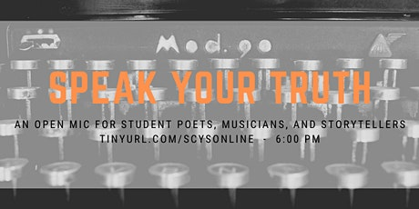 Speak Your Truth Open Mic billets