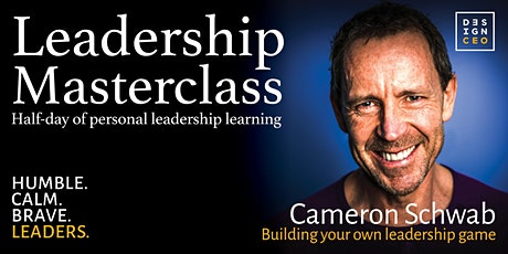 """More to the Game"" Personal Leadership Masterclass tickets"
