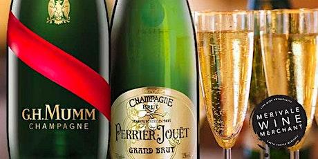 Merivale Wine Merchant: Champagne Mumm vs Champagne Perrier-Jouët tickets