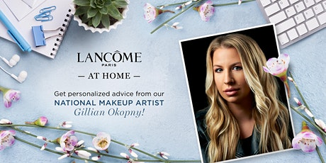 One on One Virtual Consultations with our National Makeup Artist! tickets