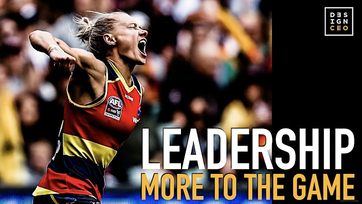 """""""More to the Game"""" Personal Leadership Masterclass image"""