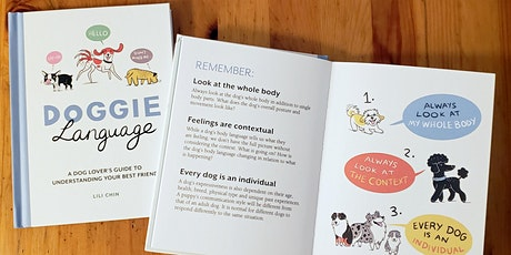Petminded Presents Book Discussion of Doggie Language: A Dog Lover's Guide tickets