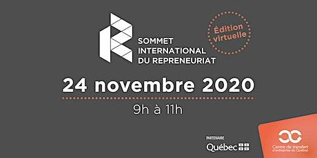 Webinaire : Sommet international du repreneuriat - édition virtuelle billets