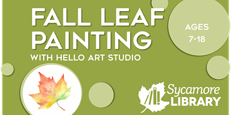 Painting Fall Leaves for Ages 7-18