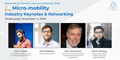Micro-mobility Industry: Keynotes & Networking tickets