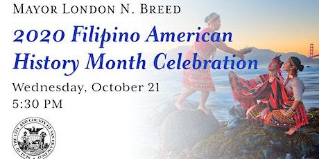 2020 Filipino American History Month Virtual Celebration tickets