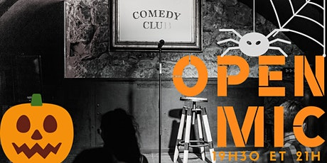 L'Open Mic de Lausanne 30 octobre billets