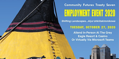 Community Futures Treaty Seven Employment Event tickets