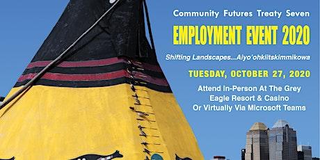 Community Futures Treaty Seven Employment Event tickets