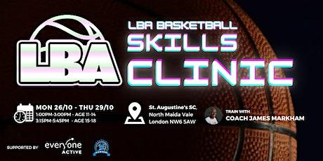 U14 LBA Skills Clinic @ St Augustine's - Holiday Basketball tickets