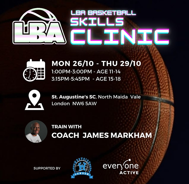 U18 LBA Skills Clinic @ St Augustine's - Holiday Basketball image