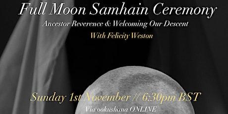 Full Moon Samhain Ceremony tickets