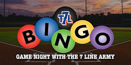 Baseball Bingo with The 7 Line (12.02) tickets