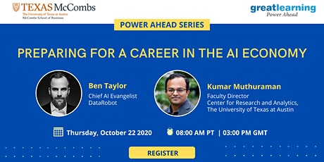[FREE Webinar] Jump-start your AI Career - for AI enthusiasts & learners tickets