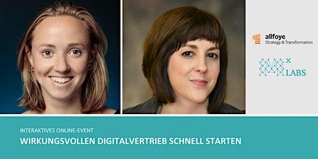 Digitalvertrieb: Verzahnung von Technologie und Mensch Tickets