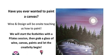 Pilates, Painting & Pinot tickets