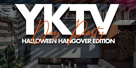 YKTV Day Party Halloween Hangover Edition tickets