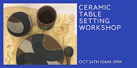 Ceramic Table Setting Workshop tickets