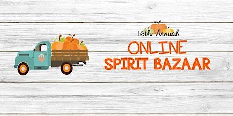 2020 Online Spirit Bazaar tickets