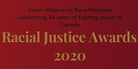 Racial Justice Awards Night tickets