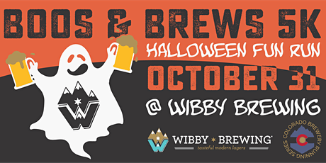 Boos & Brews Halloween 5k - Wibby Brewing | Colorado Brewery Running Series tickets