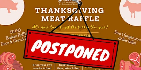 Educators of America's Thanksgiving Meat Raffle tickets